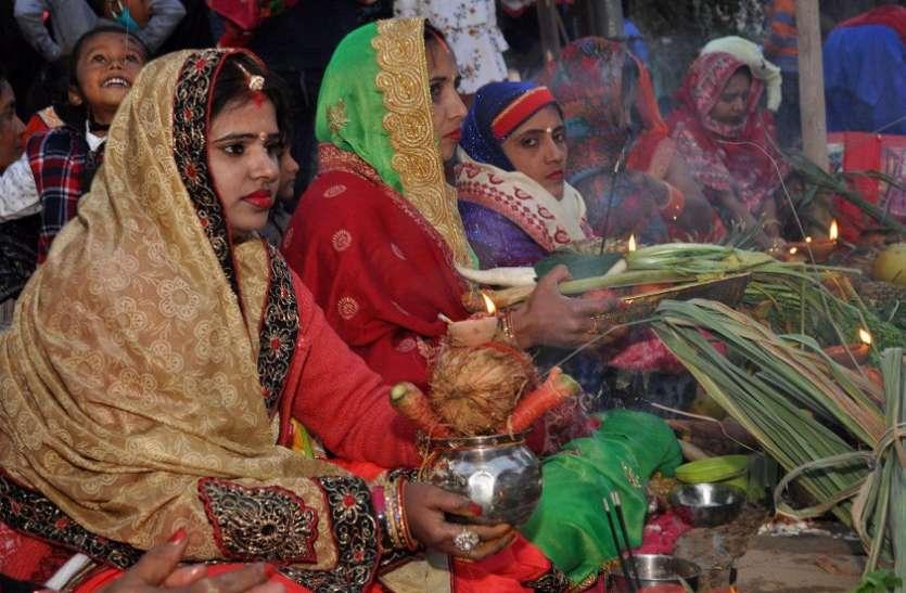छठ पर्व: श्रीगंगानगर में आस्था की डूबकी, श्रद्धा का शंखनाद