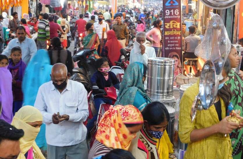 त्योहार में बाजार की दूर हुई सुस्ती, 70 करोड़ का रहा दीपोत्सव, जमकर हुआ कारोबार