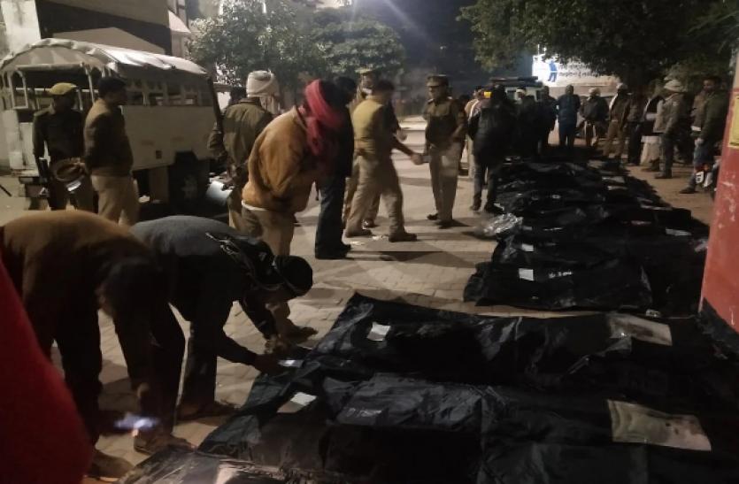 उत्तर प्रदेश : प्रतापगढ़ में बड़ा सड़क हादसा, 14 की मौत