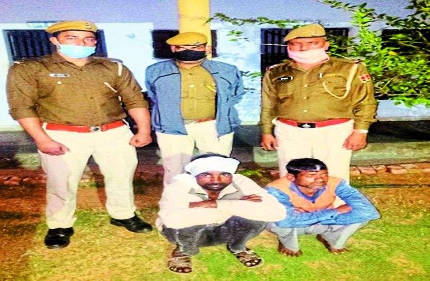 प्राचीन श्रीराम जानकी मंदिर से मूर्तियों चुराने के आरोपी गिरफ्तार, मूर्तियां बरामद