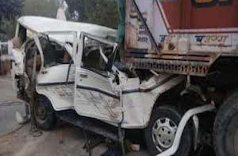 प्रतापगढ़ में कार और ट्रक की भीषण टक्कर में 14 की मौत, सीएम ने किया दो-दो लाख मुआवजे का ऐलान, अखिलेश ने जताया दुख