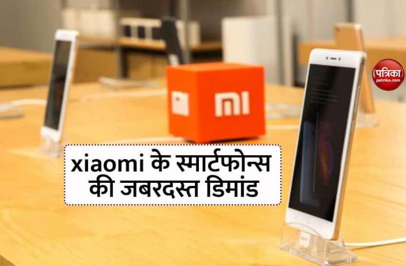 चीनी स्मार्टफोन कंपनी xiaomi के प्रोडक्ट्स की भारत में भारी डिमांड, फेस्टिव सीजन में बेचे इतने करोड़ डिवाइस