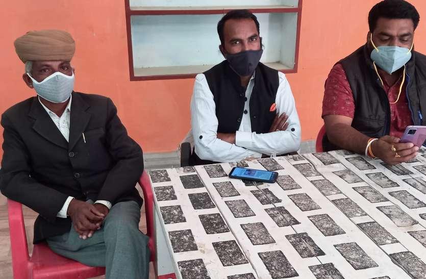 Nagaur patrika news. शिलालेखों को हटाकर कब्जा करने वालों से निपटेगा राजपूताना संघ