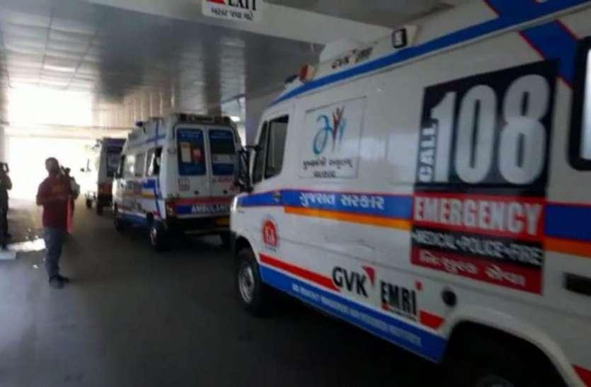 अहमदाबाद से कोरोना पॉजिटिव मरीजों को उपचार के लिए भेजा जा रहा है आणंद तक