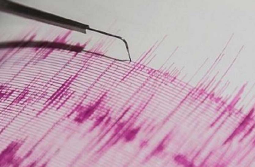 मणिपुर में महसूस किए गए भूकंप के झटके, रिक्टर स्केल पर तीव्रता 4