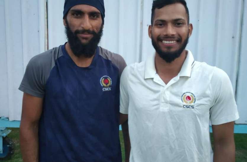 चार दिवसीय सलेक्शन क्रिकेट मैच: सीएससीएस रेड पर यलो टीम जीत से 13 रन से चूकी,मैच ड्रा