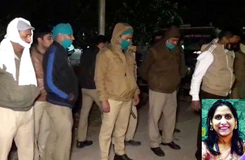 रीचार्ज करने के बहाने घर में घुसकर दंत चिकित्सक की हत्या करने वाले आरोपी को पुलिस ने पकड़ा