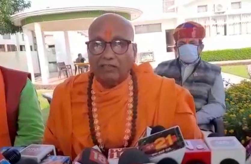राम मंदिर निर्माण में मुस्लिम समाज करें कारसेवा और 11 रुपये का दान : प्रबोधानंद गिरि