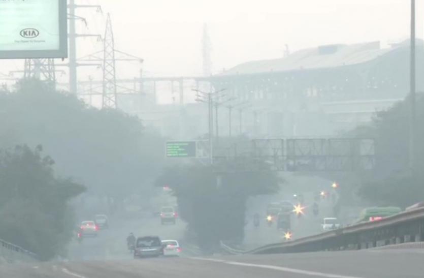 SAFAR-India : दिल्ली एनसीआर में वायु प्रदूषण की हालत बेहद खराब, कई इलाकों घना स्मॉग