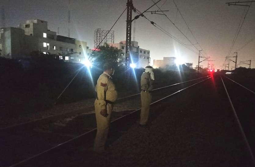 भिलाई में रेलवे ट्रेक पर मिली युवक लाश, धड़ पड़ा था पटरी पर सिर मिला गायब, नहीं हो पाई पहचान