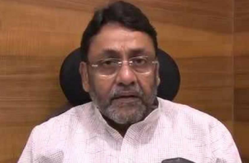 महाराष्ट्र सरकार में मंत्री नवाब मलिक ने उठाए सवाल, कहा - क्या ड्रग तस्करों को बचा रही है NCB?