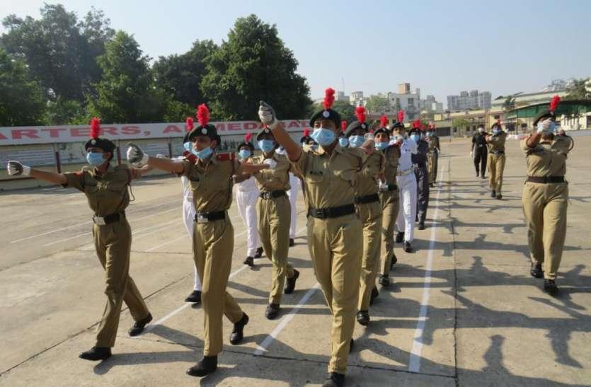 NCC day: कैडेटों ने परेड, रक्तदान कर मनाया एनसीसी का 72वां स्थापना दिवस