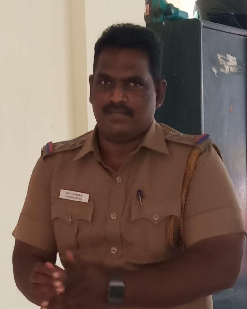 Chennai Police Inspector