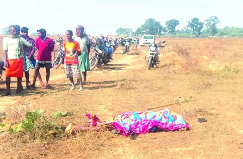 मवेशी चराने जा रहे ग्रामीण का हाथी से हो गया सामना, पहले जमीन पर पटका फिर पैरों से कुचलकर मार डाला