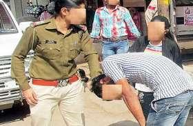 एक्शन पर रिएक्शनः महिला इंस्पेक्टर ने एसएसओ को जड़ा थप्पड़ तो 35 गांवों की बत्ती कर दी गुल