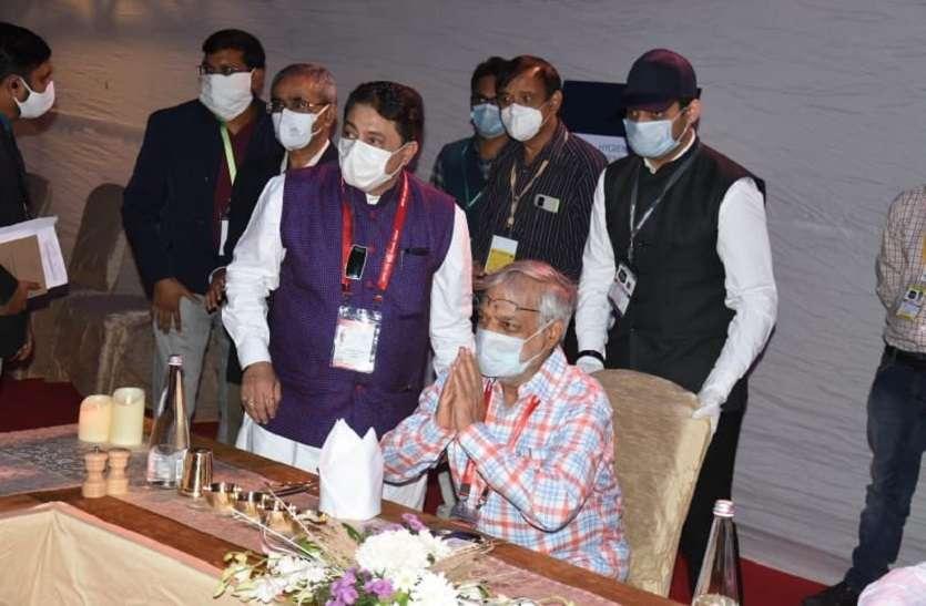 गुजरात में अखिल भारतीय पीठासीन अधिकारी सम्मेलन का आगाज़, राजस्थान से डॉ जोशी ले रहे भाग