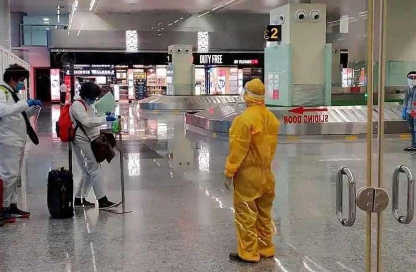 देहरादून के जॉलीग्रांट एयरपोर्ट पर होगा दिल्ली से आने वाले पैसेंजर का कोरोना टेस्ट