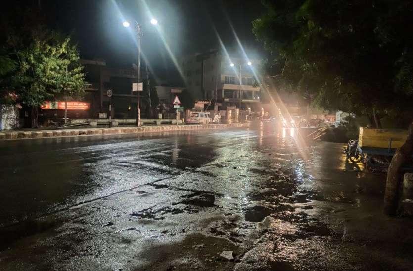 Rain: सुबह शीतलहर, रात को भिगोया बरसात ने