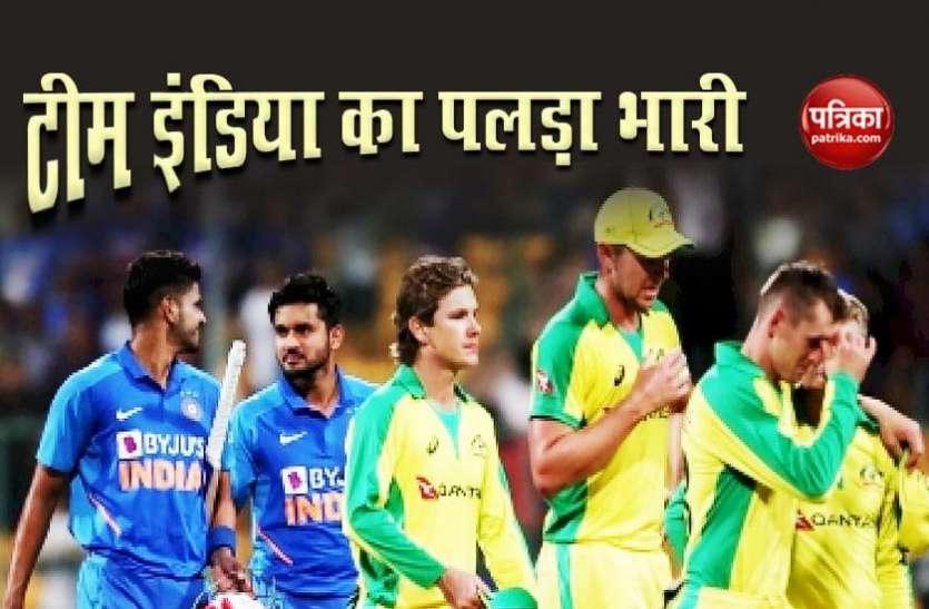 Australia vs India Match Preview : भारत का पलड़ा भारी, मेजबान होने के नाते आस्ट्रेलिया को है मनोवैज्ञानिक बढ़त
