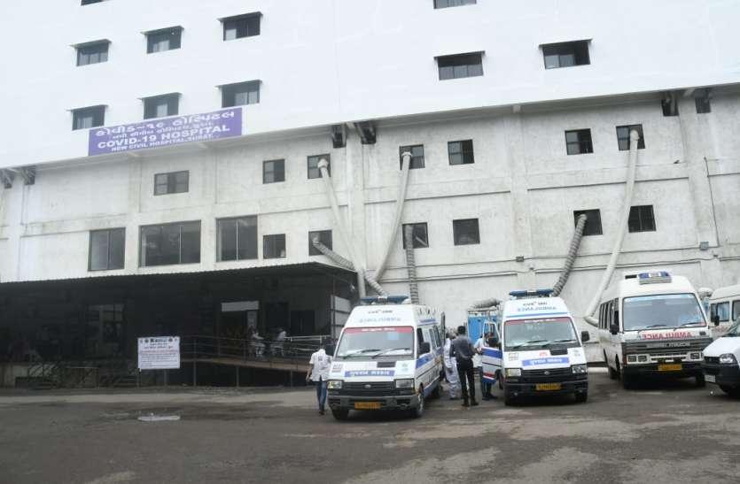 सूरत में कोरोना के नए 277 मरीज भर्ती, दो मौत, 204 हुए स्वस्थ