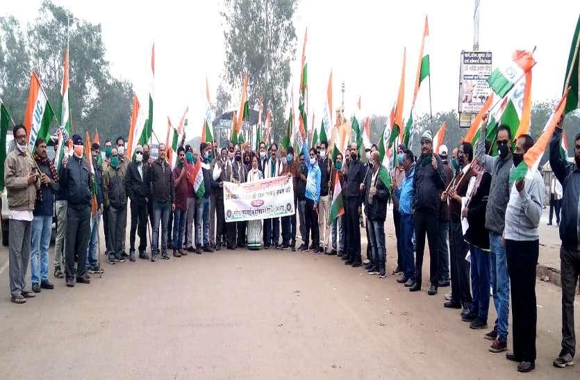 संयुक्त ट्रेड यूनियन का देशव्यापी हड़ताल शुरू, BSP मेनगेट पर कर्मियों ने किया प्रदर्शन, प्रबंधन की चेतावनी नहीं आई काम