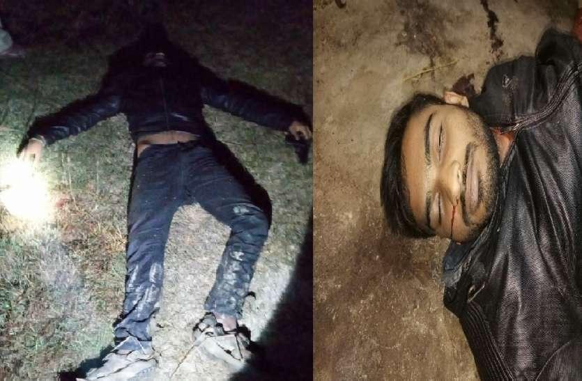 पुलिस मुठभेड़ में मारा गया तीन लाख का ईनामी बदमाश सूर्यांश दुबे, कई जिलों में था आतंक