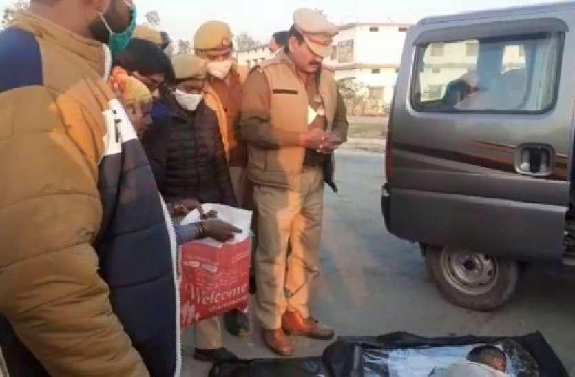 बिजनौर में मंदबुद्धि मासूम बच्ची की हत्या, नाले में पड़ा मिला शव