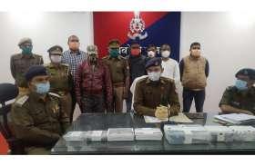 रायबरेली पुलिस ने लूट करने वाले बदमाशो को किया गिरफ्तार, बैंकों से पैसा निकालने वालों से करते थे यह लूट