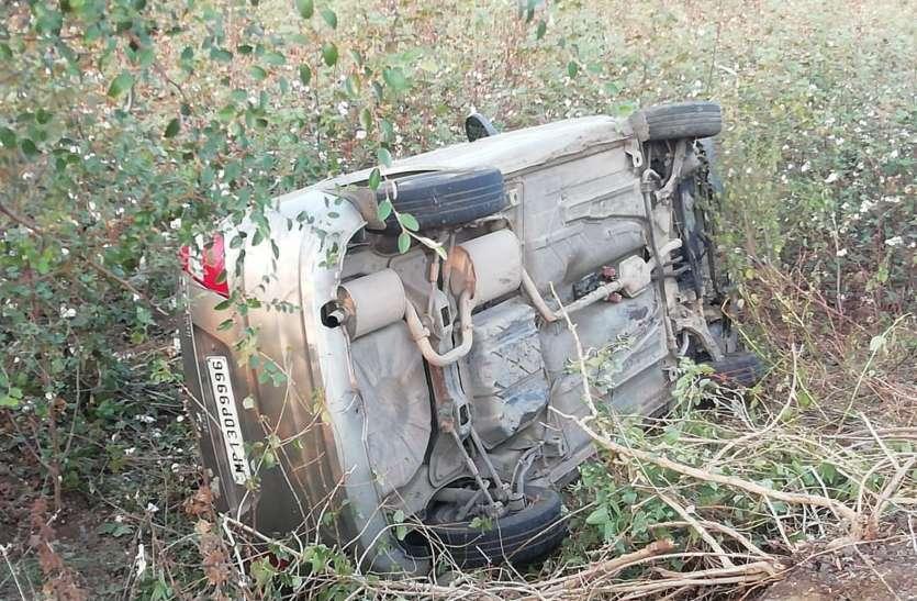 कार और बाइक टक्कर, आंगनवाड़ी कार्यकर्ता की मौत