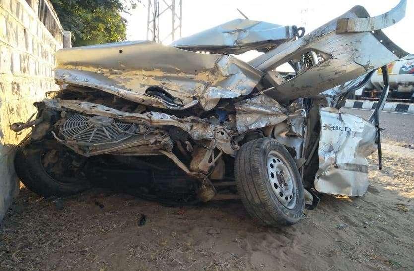 बाड़मेर : हाईवे पर कार-ट्रेलर की आमने-सामने भिड़ंत, दो की मौत, जानिए पूरी खबर
