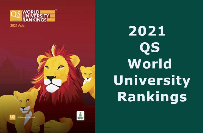 QS World University Ranking 2021: देश के 8 संस्थानों ने बनाई टॉप 500 में जगह, आईआईटी बॉम्बे शीर्ष पर