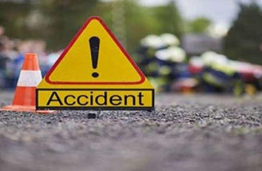 वीआईपी रोड पर आफिस टाइमें हुए सड़क हादेस में घायल हुए एक की हुई मौत