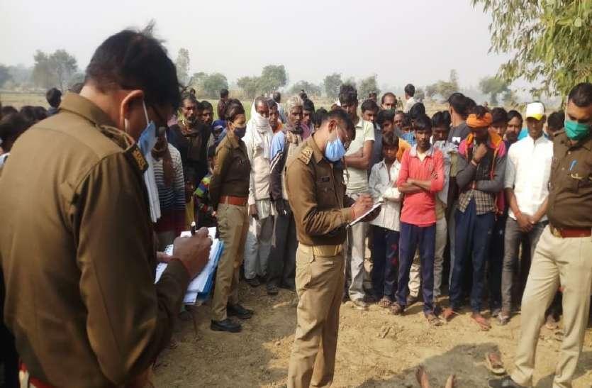 गन्ना क्रय केंद्र पर बदमाशों ने बोला धावा, मजदूर को उतारा मौत के घाट, ट्रॉली लूटकर हुए फरार