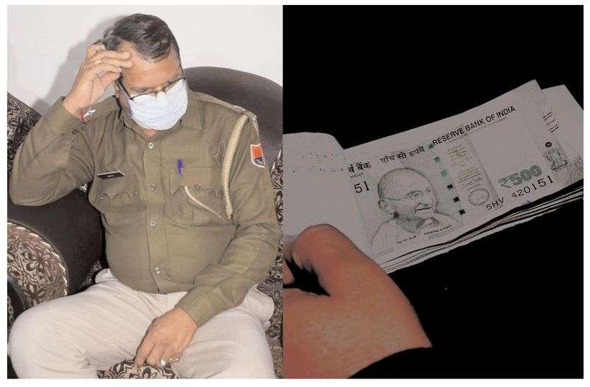 जवाहर सर्किल थाने का एएसआई रिश्वत लेते गिरफ्तार