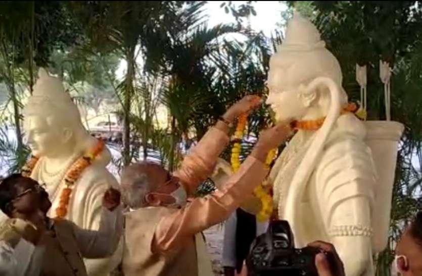 सीएम बोले- भाजपा राजनीति करती है जबकि  राम हमारी सरकार की प्राथमिकता