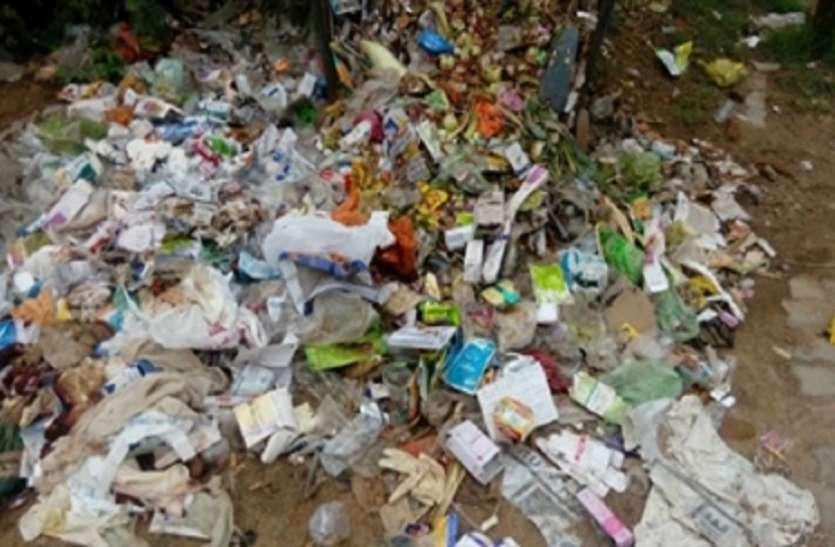 Garbage disposal in open area, नागरिकों ने किया विरोध, जनांदोलन की धमकी