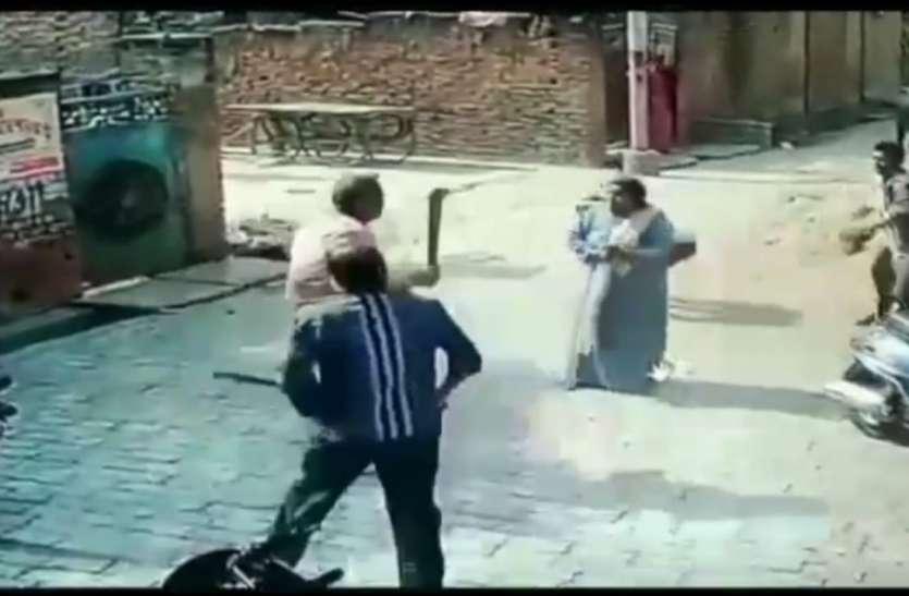 बिजली कटिया का तार हटाने पर पड़ोसियों द्वारा चापड़ व तलवार से हमला, अफरा तफरी