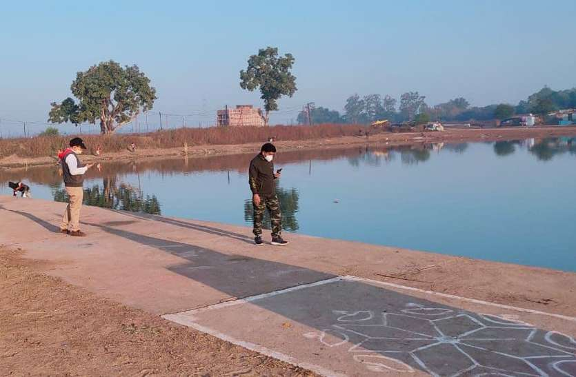स्वच्छता सर्वेक्षण की तैयारी, पुरैनी तालाब चकाचक