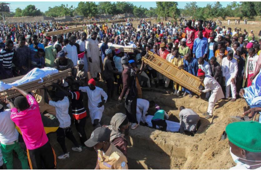 Nigeria: बोको हरम के आतंकियों ने की 110 मजदूरों की निर्मम हत्या, सभी का सरेआम काटा गला