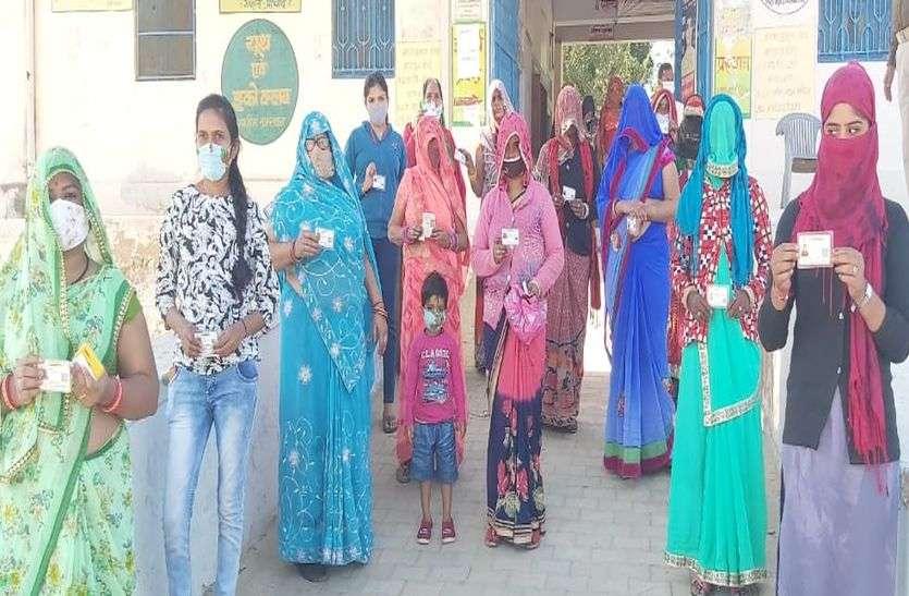 69.25 फीसदी मतदान के साथ पिपराली मतदान में अव्वल, अजीतगढ़ 9 पंचायतों में सबसे फिसड्डी