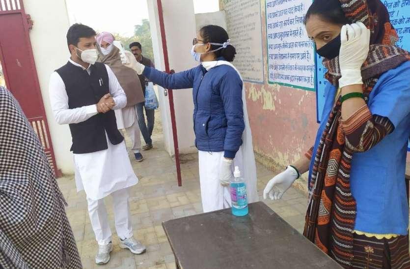 हनुमानगढ़ के संगरिया व टिब्बीमें मतदान की धीमी शुरुआत, दोपहर बाद पकड़ी गति