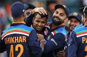 एक ओवर में 6 यॉर्कर डालने वाला तमिलनाडु का क्रिकेटर टी नटराजन ने भारत के लिए किया डेब्यू
