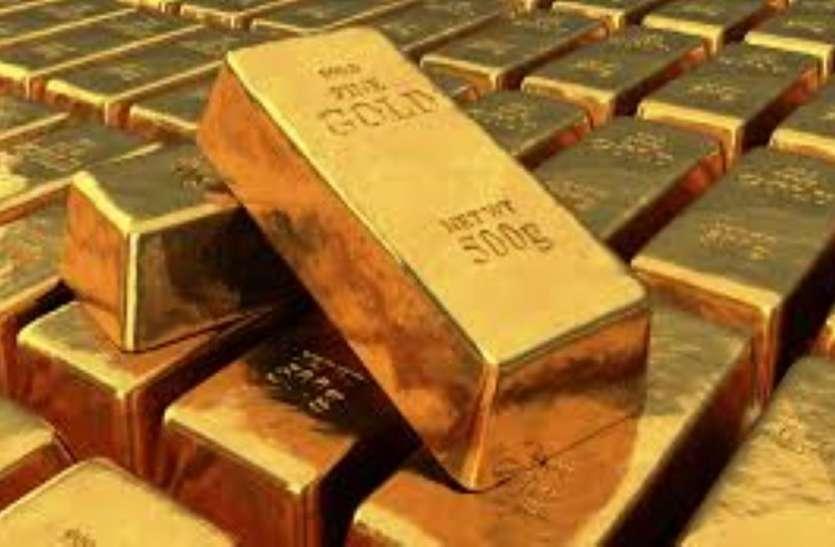 GOLD--शेयर चढ़े तो सोने के दामों में आने लगी नरमी