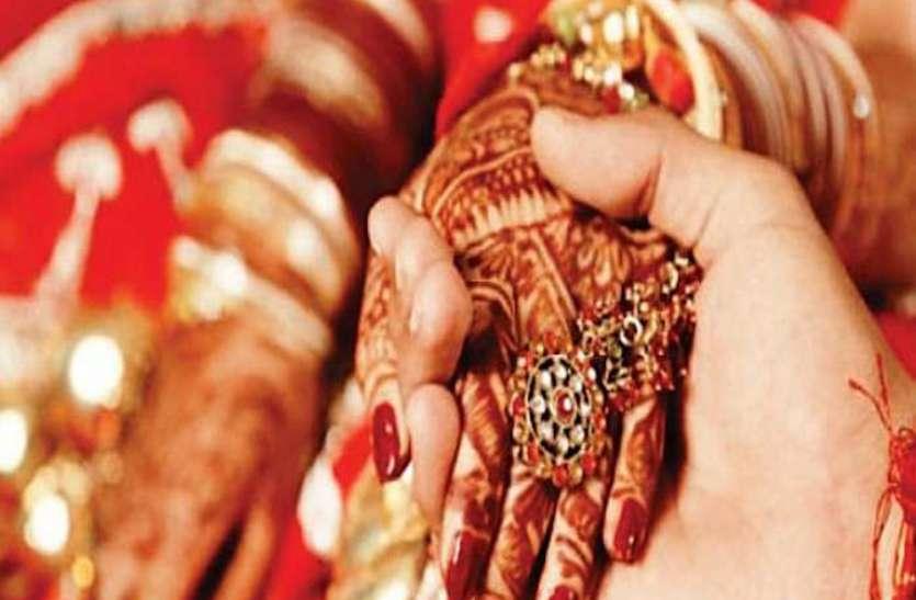 दहेज में लाखों रुपयों को ठुकराकर एक रुपये और नारियल का शगुन लेकर सेना के जवान ने की शादी