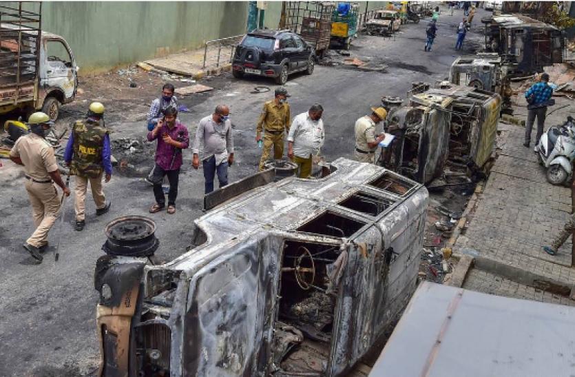 Bengaluru violence : क्राइम ब्रांच ने पूर्व पार्षद रकीब जाकिर को किया गिरफ्तार, पूछताछ जारी