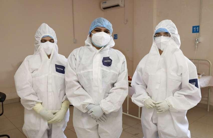 Ahmedabad News : राजकोट के सिविल अस्पताल में कोरोना संक्रमित 180 मरीज ले रहे हैं मास प्रोनिंग थैरेपी