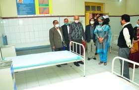 रायबरेली एनटीपीसी ने सामुदायिक स्वास्थ्य केंद्र को सौपे स्वास्थ्य उपकरण, परियोजना प्रमुख ने बताई यह बात