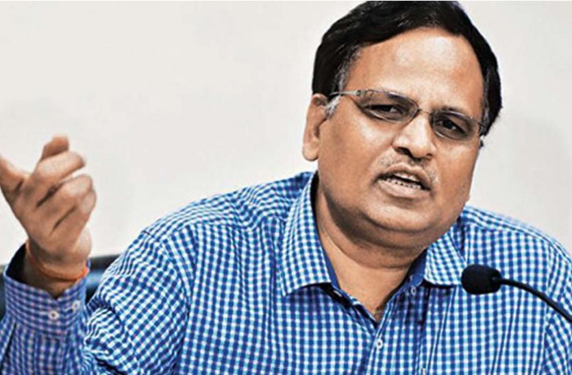 Satyendra Jain बोले - केजरीवाल सरकार 3 से 4 हफ्ते में दिल्लीवासियों को टीका लगाने में सक्षम