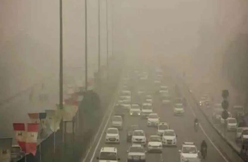 सुबह की सैर करने निकले लोगों के लिए मुसीबत बना प्रदूषण, धुंआ, धूल और जाम ने बढ़ाई परेशानी