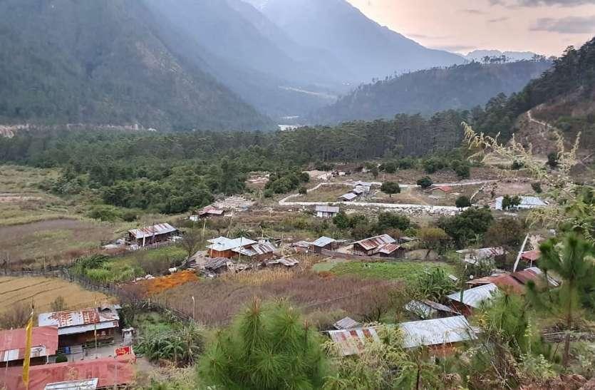 अरुणाचल प्रदेश में भारतीय सीमा के नजदीक चीन ने बसाए तीन गांव
